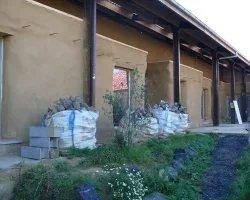 La Ligule - Histoire - Enduisage des murs